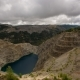 Clouds Rolling Over Old Mine with Lake - VideoHive Item for Sale