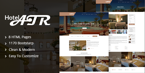 Hotel Atr - Hotel & Resort HTML Template - Travel Retail