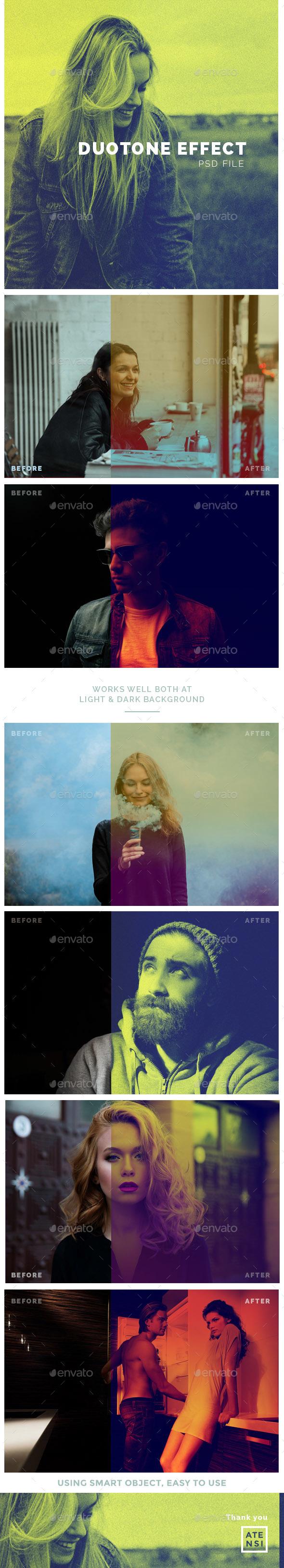 Duotone Photo Effect - Urban Photo Templates