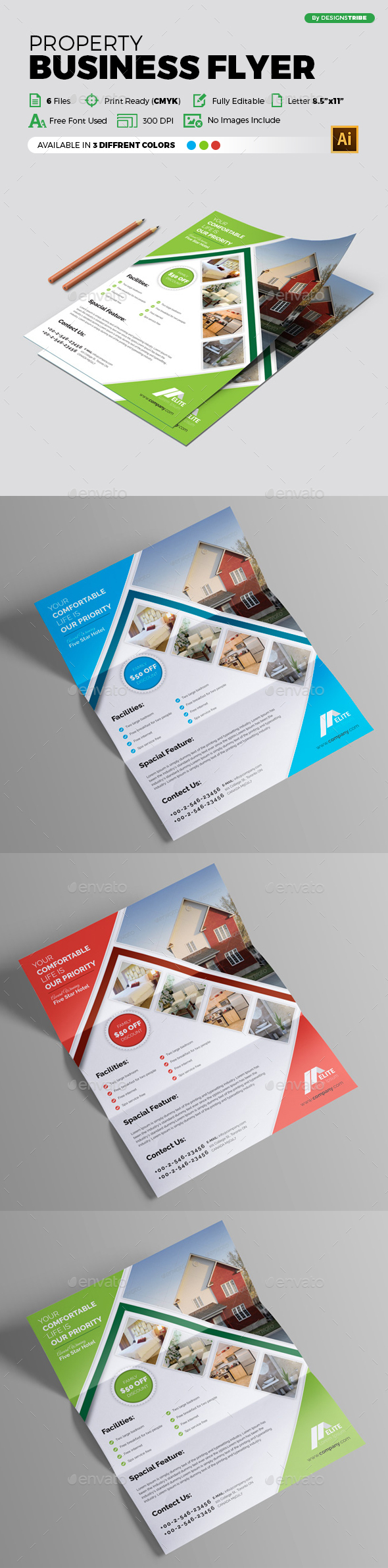 Flyer – Multipurpose 290 - Commerce Flyers