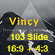 Vincy - Creative PowerPoint Template