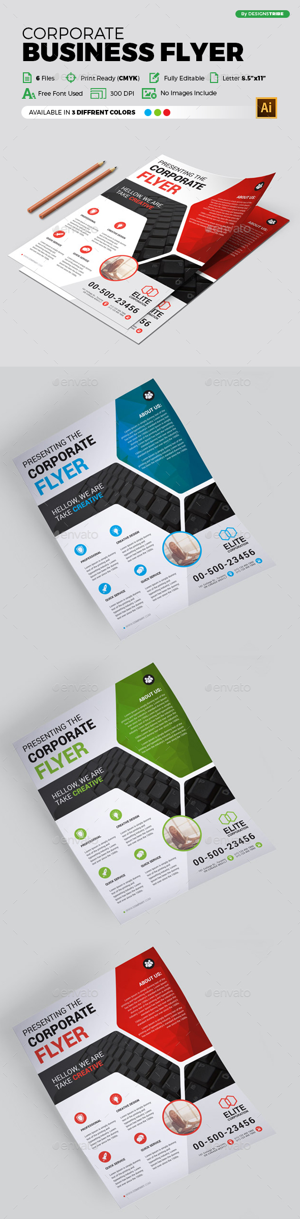 Flyer – Multipurpose 298 - Corporate Flyers