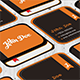 Square Book Business Card Vol 1 - GraphicRiver Item for Sale