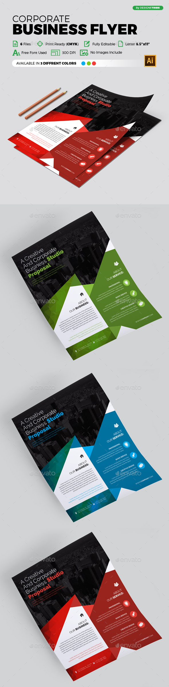 Flyer – Multipurpose 300 - Corporate Flyers