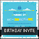 Fun Children's Birthday Invite