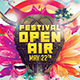 Open Air Festival - GraphicRiver Item for Sale