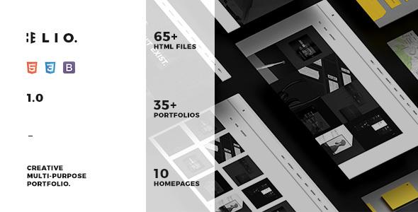 ELIO – Creative & Minimal Portfolio Template