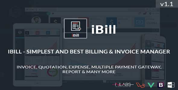 ibill - Simplest and Best Billing & Invoice Manager nulled free download