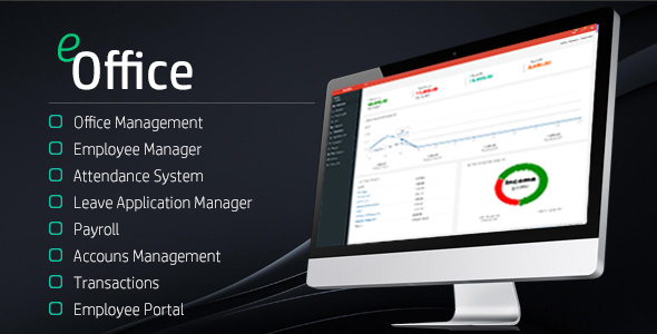 eOffice - Ultimate HRM & Accounts - CodeCanyon Item for Sale