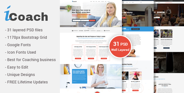 Icoach for coaches speakers fitness trainers entrepreneurs icoach preview01 homepage life coachingg icoach preview02 homepage health coaching g icoach preview03 homepage speakerg pronofoot35fo Gallery
