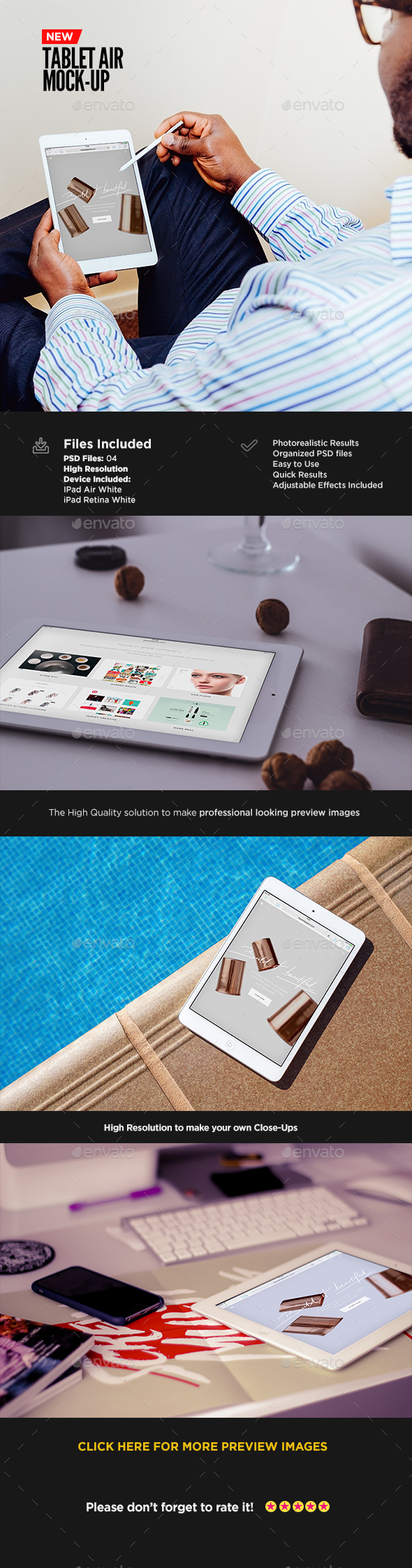 Tablet Screen Mock-Up | App Showcase Edition - Mobile Displays