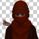 Woman With Red Hijab - VideoHive Item for Sale