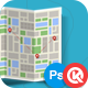 Folded Map Creator - GraphicRiver Item for Sale