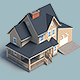 Suburban House Animation - VideoHive Item for Sale
