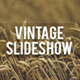 Vintage Slideshow - VideoHive Item for Sale