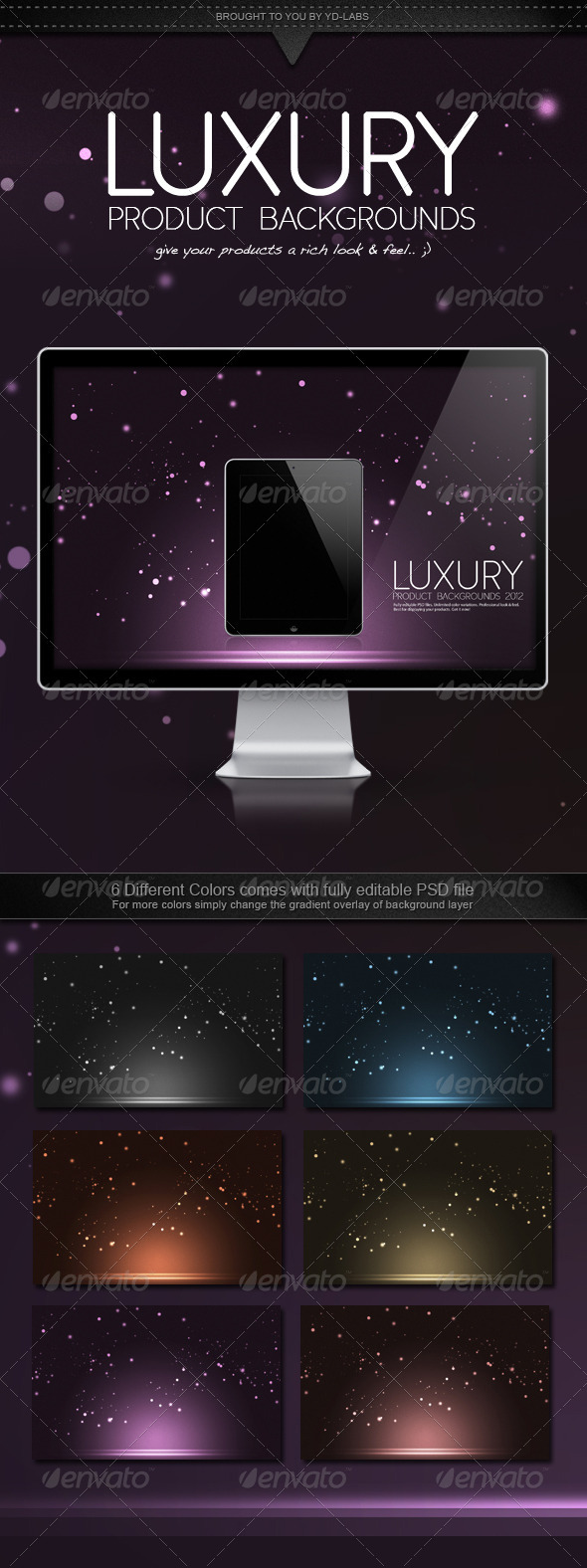 Luxury Product Backgrounds - Abstract Backgrounds