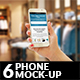 6 Phone Mock-Ups - GraphicRiver Item for Sale