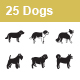 Dogs Vector Icons - GraphicRiver Item for Sale