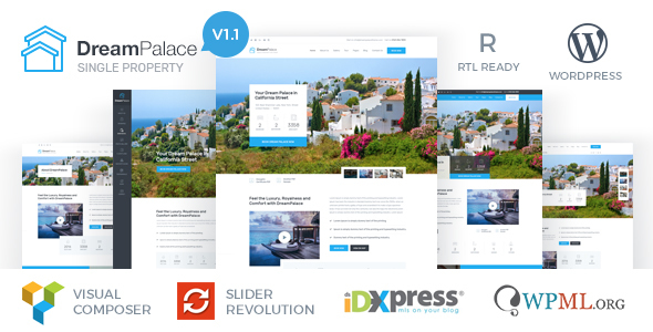 Image of DreamPalace - Single Property Real Estate Theme