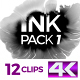 4K Ink Pack 1 - VideoHive Item for Sale