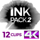 4K Ink Pack 2 - VideoHive Item for Sale
