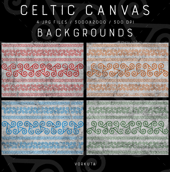 Celtic Canvas | Backgrounds - Patterns Backgrounds
