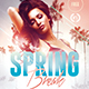 Spring Break | Psd Flyer Template - GraphicRiver Item for Sale