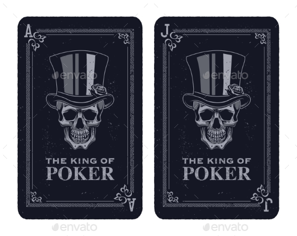 Skull Poker Card Vector - Miscellaneous Vectors