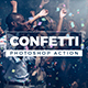 Gif Animated Confetti / Photoshop Action - GraphicRiver Item for Sale