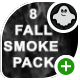 8 White Smoke Falling Footages - VideoHive Item for Sale