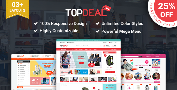 SP TopDeal – Multipurpose Responsive PrestaShop Theme