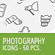 50 Photography Business Icons - GraphicRiver Item for Sale