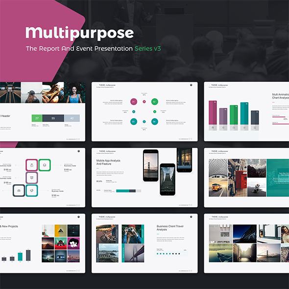 Multipurpose Demo v3 (Powerpoint) - Creative PowerPoint Templates