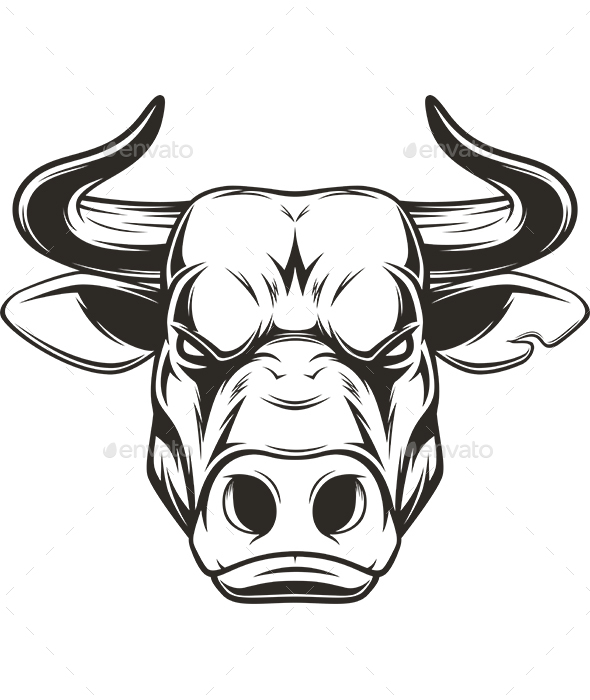 Bull Head - Animals Characters