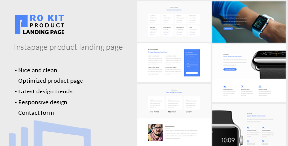 Prokit - Instapage Product Landing Page - Instapage Marketing