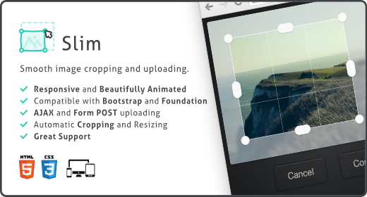 Slim Image Cropper for WordPress