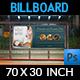 Hotel Billboard Template Vol.2 - GraphicRiver Item for Sale