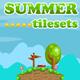 Platformer Tileset for Summer 2D Game