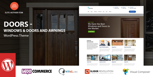 Windows & Doors - High Quality WordPress Theme - Business Corporate