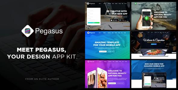Pegasus App – Creative App Template
