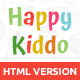 Happy Kiddo - Multipurpose Kids HTML Template - ThemeForest Item for Sale