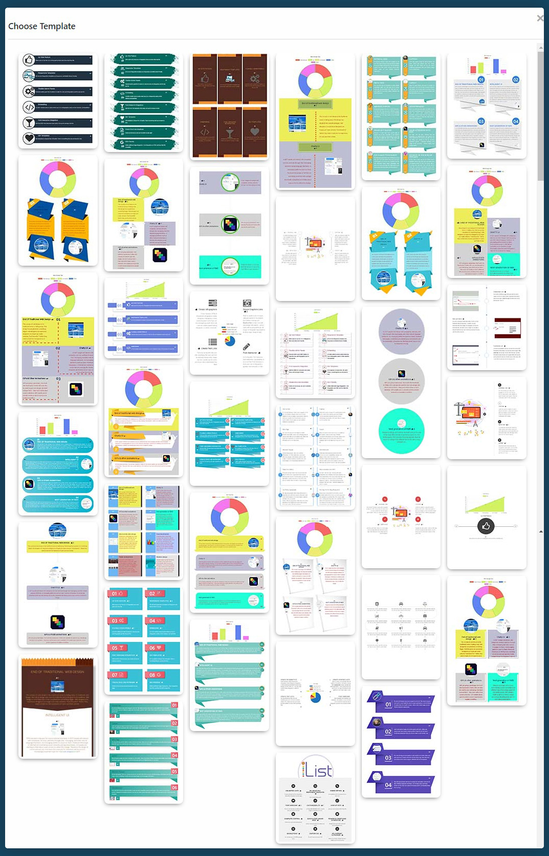 Infographic Maker - iList Pro by quantumcloud | CodeCanyon