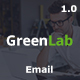 GreenLab Multipurpose Email Template Nulled
