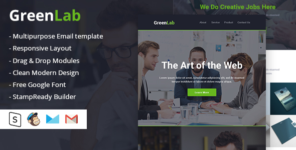 Image of GreenLab Multipurpose Email Template
