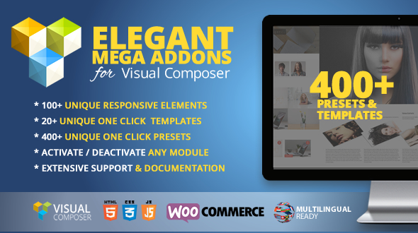 Elegant Mega Addons for Visual Composer - CodeCanyon Item for Sale