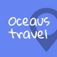 OCEAUS - Multipurpose Travel Booking PSD Template Nulled