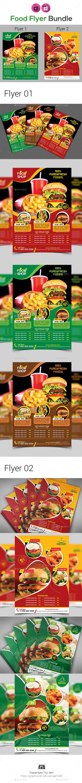Restaurant  Flyer Bundle V2 - Restaurant Flyers