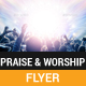 Praise and Worship Flyer - GraphicRiver Item for Sale