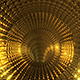 Golden Glare Tunnel - VideoHive Item for Sale