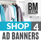 Store Discount Banners - GraphicRiver Item for Sale